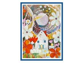 Feng shui obrazy Andel zehna zahradkarum 4