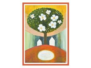 Feng shui obrazy Stromy jsou nasi andele 2