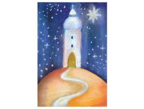 vanoce XI cesta ke svetlu feng shui pohlednice
