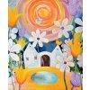 Feng shui obrazy Ireny Kovarove U nas v tulipanove plakat stredni w