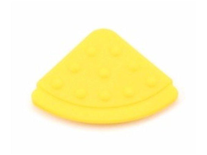 Kousátko ROŽEK našívací 45mm (1ks) - yellow