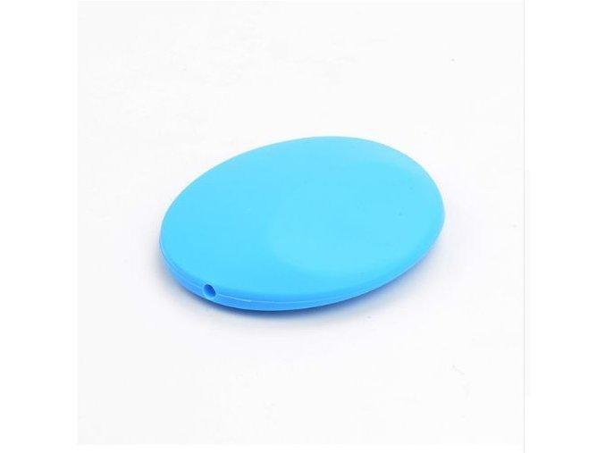 Silikonová placička 50mm (1ks) - sv-modrá