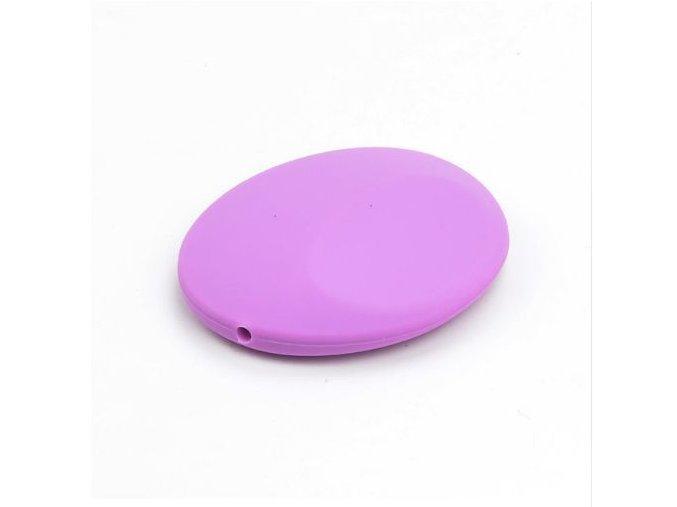 Silikonová placička 50mm (1ks) - fialová