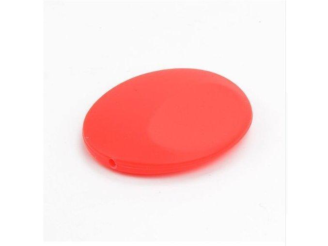 Silikonová placička 50mm (1ks) - červená