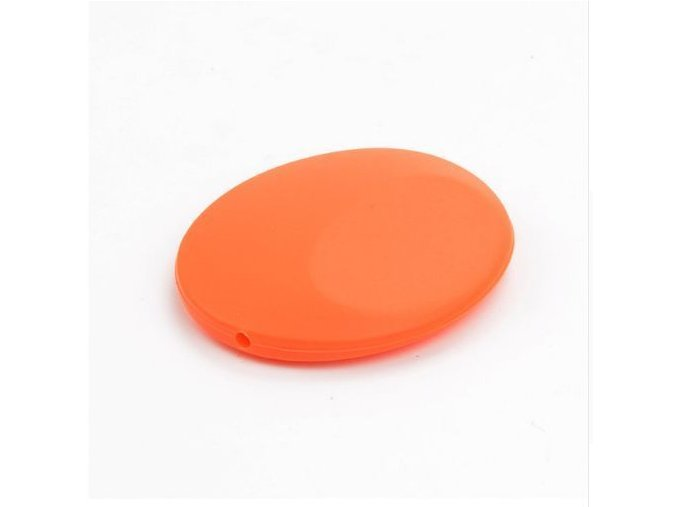 Silikonová placička 50mm (1ks) - oranžová