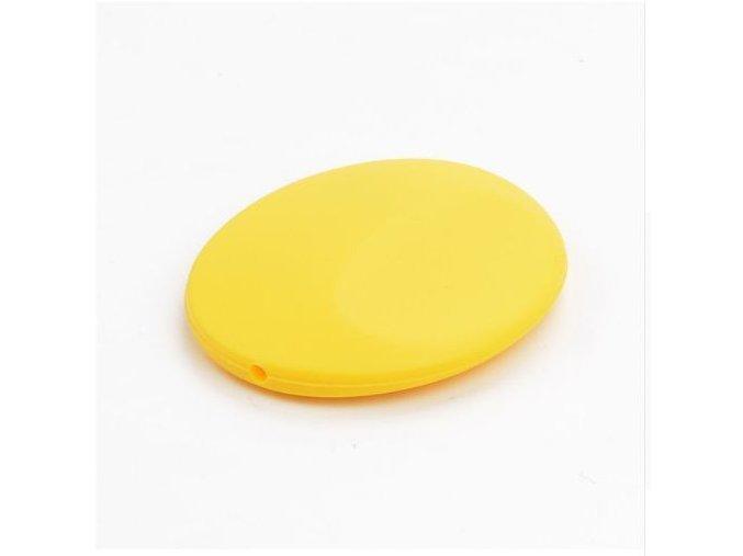 Silikonová placička 50mm (1ks) - žlutá