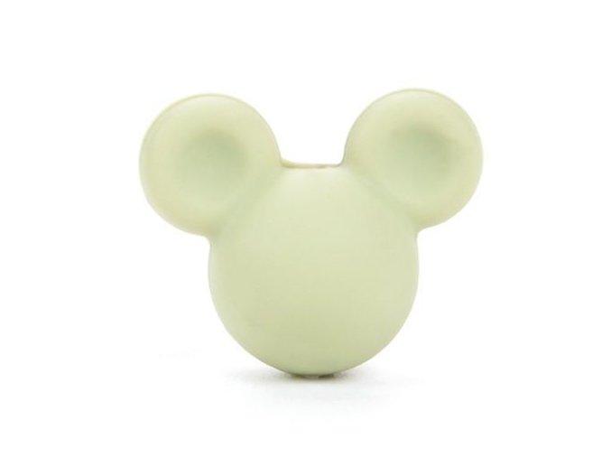 Korálky MickeyMouse 2cm - (1ks) - lint