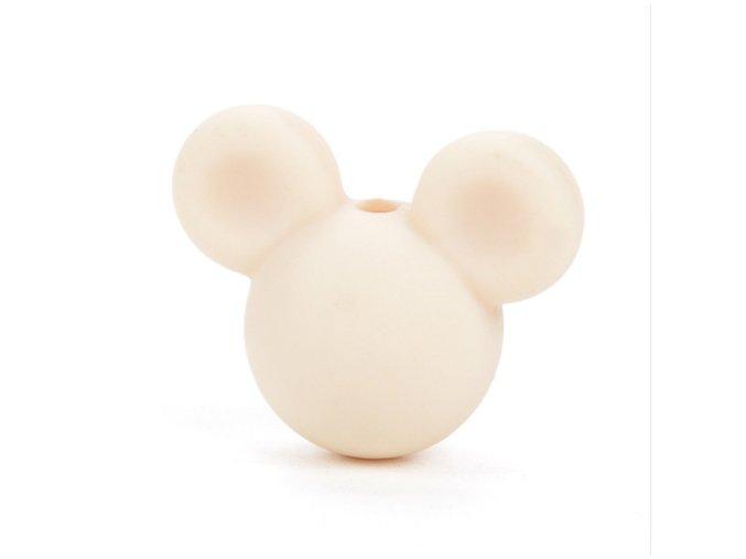 Korálky MickeyMouse 2cm - (1ks) - navajowhite