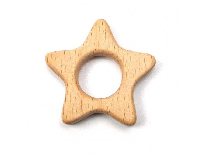 Kousátko - hvězda 5cm (1ks)