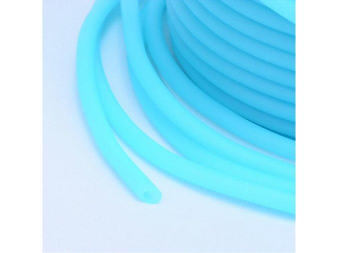 Dutinka silikonová pr.2mm (1m) - modrá