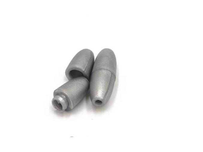 Plastové zapínání 5x20mm (5sad) - stříbrná