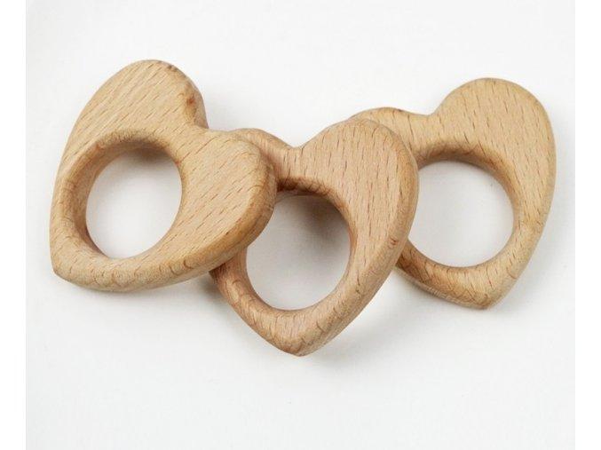 Kousátko - srdce klasik 6cm (1ks)