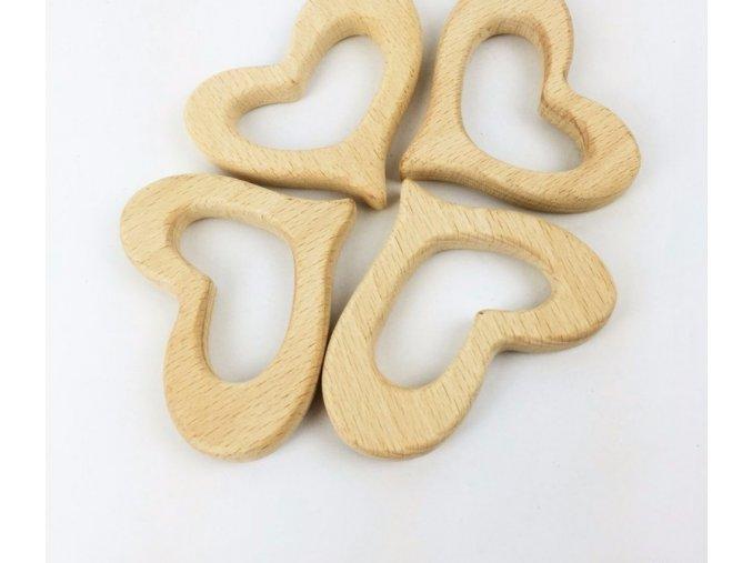 Kousátko - srdce 7cm (1ks)