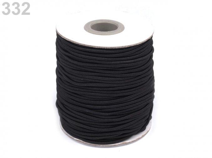Kulatá pruženka pr.3 mm (5m) - černá
