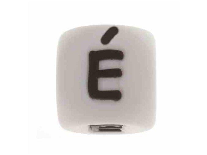 """Silikonová písmenka - """"É"""" (1ks)"""