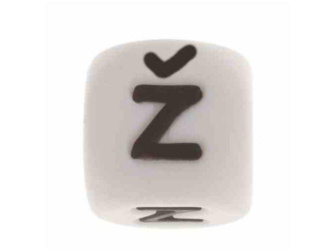 """Silikonová písmenka - """"Ž"""" (1ks)"""