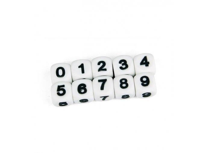 """Silikonová čísla - """"0"""" (1ks)"""