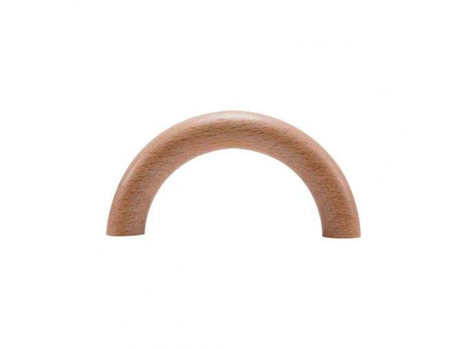 Dřevěný polokroužek 96x50mm (1ks) - buk