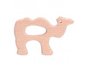 Dřevěné kousátko 80mm (1ks) - velbloud