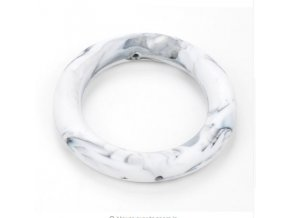 Silikonový kroužek 65mm (1ks) - marble