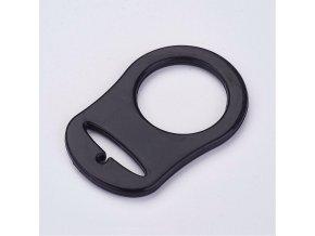 Redukční kroužek na dudlík (1ks) - černá