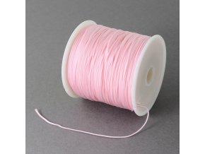 Nylonová šňůrka pr.0,5mm (10m) - Rose