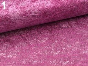Hedvábný papír (pavučinka) 60x60 cm - růžový