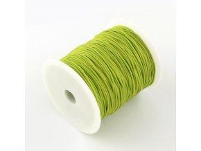 Nylonová šňůrka pr.1mm (10m) - zelená jarní