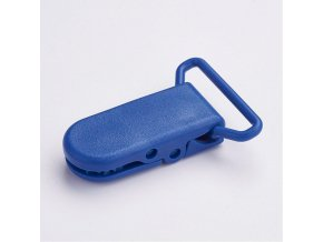 Klip na dudlík 20mm (2ks) - tm.modrá