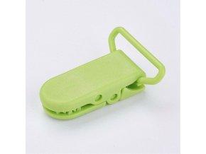 Klip na dudlík 20mm (2ks) - zelená jarní