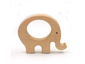 Kousátko - slon 7cm (1ks) AKCE