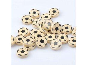 Dřevěné korálky míč 20mm (5ks)