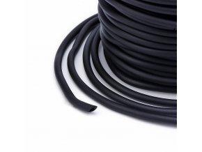 Dutinka silikonová pr.2mm (1m) - černá