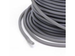 Dutinka silikonová pr.3mm (1m) - šedá