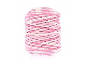 Šňůrka 2mm (50m) - Mashmallow Swirl