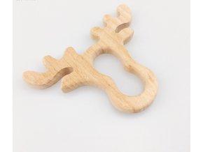 Dřevěné kousátko 80mm (1ks) - sob
