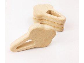 Dřevěné kousátko 80mm (1ks) - zmrzlina