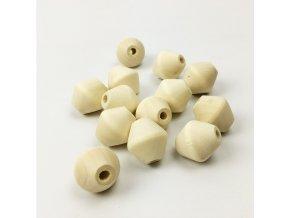 Dřevěné korálky 20mm (4ks)