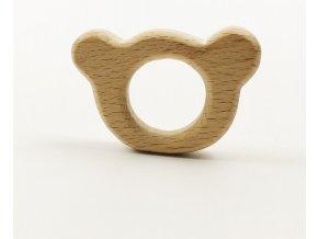 Kousátko - medvídek 6cm (1ks)