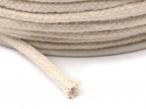 Bavlněná šňůrka/knot pr.2,5mm (10m) - režná