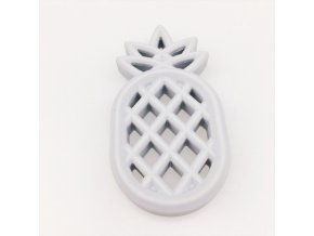Kousátko silikonové ANANAS 85mm (1ks) - grey