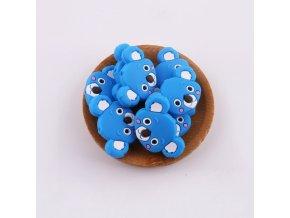 Korálky silikonové KOALA 35mm (1ks) - sky blue