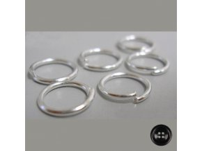 Spojovací kroužky pr.10 mm (50 ks)