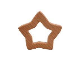 Dřevěné kousátko 70mm (1ks) - hvězda velká