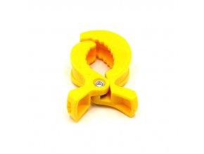 Klip na kočárek/postýlku (1ks) - žlutá