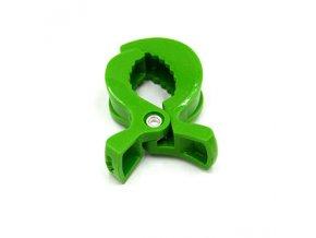 Klip na kočárek/postýlku (1ks) - zelená