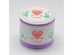 Nylonová šňůrka pr.0,8mm (45m) - lilac