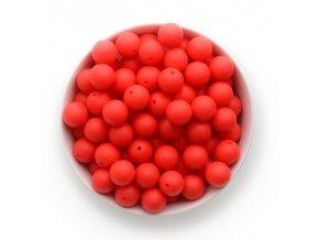 Silikonové korálky Ø15mm (10ks) - watermelon