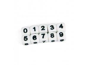 """Silikonová čísla - """"5"""" (1ks)"""