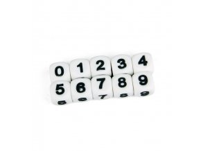 """Silikonová čísla - """"8"""" (1ks)"""